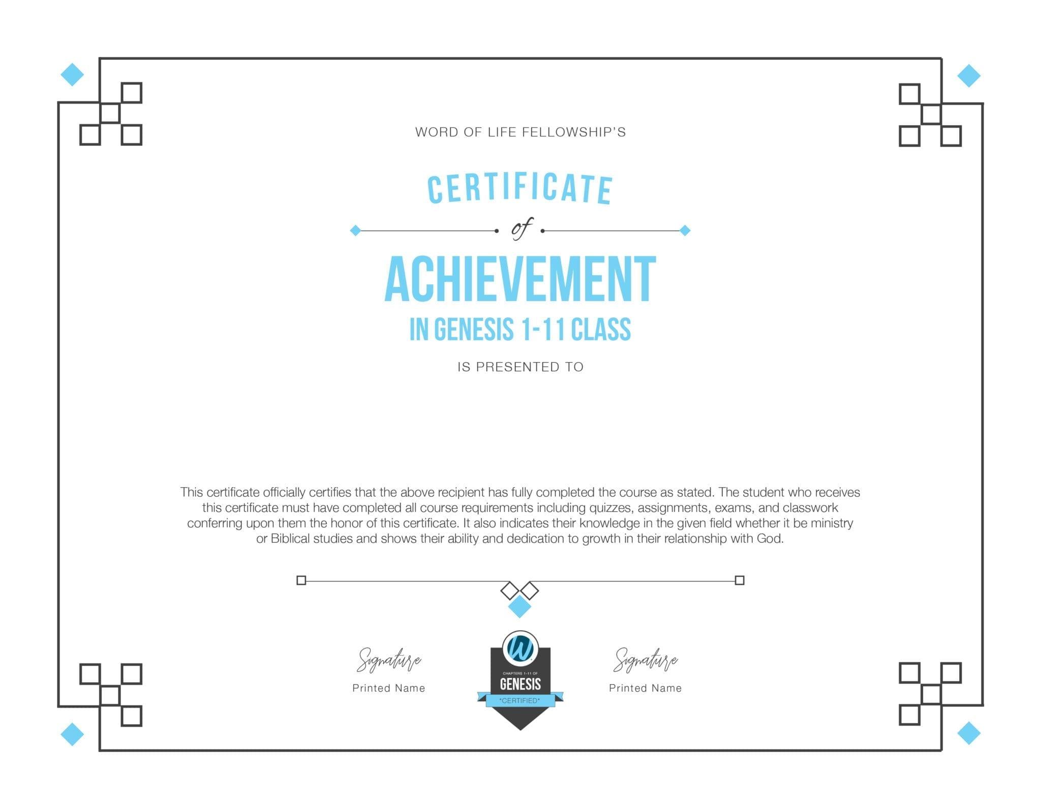 Genesis Diploma