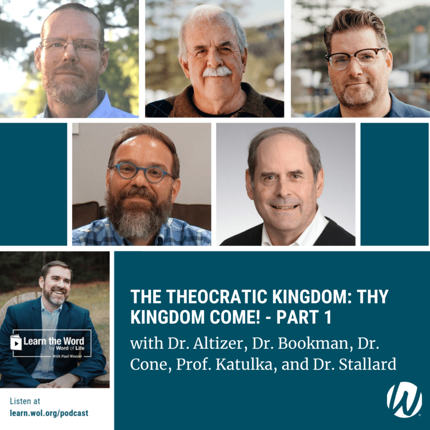 LTW 187 - The Theocratic Kingdom: Thy Kingdom Come! - Part 1 -with Dr. Altizer, Dr. Bookman, Dr. Cone, Prof. Katulka, and Dr. Stallard